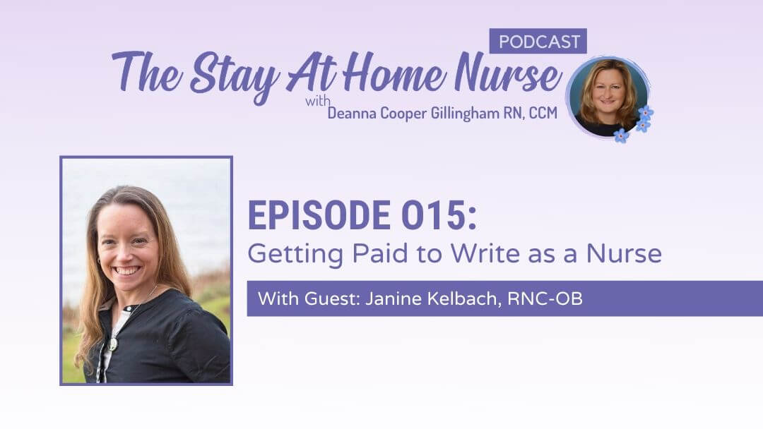 Getting Paid to Write as a Nurse