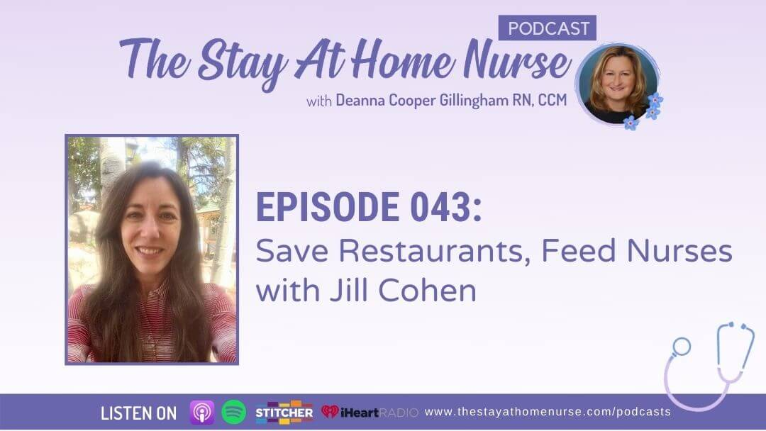 Save Restaurants, Feed Nurses with Jill Cohen