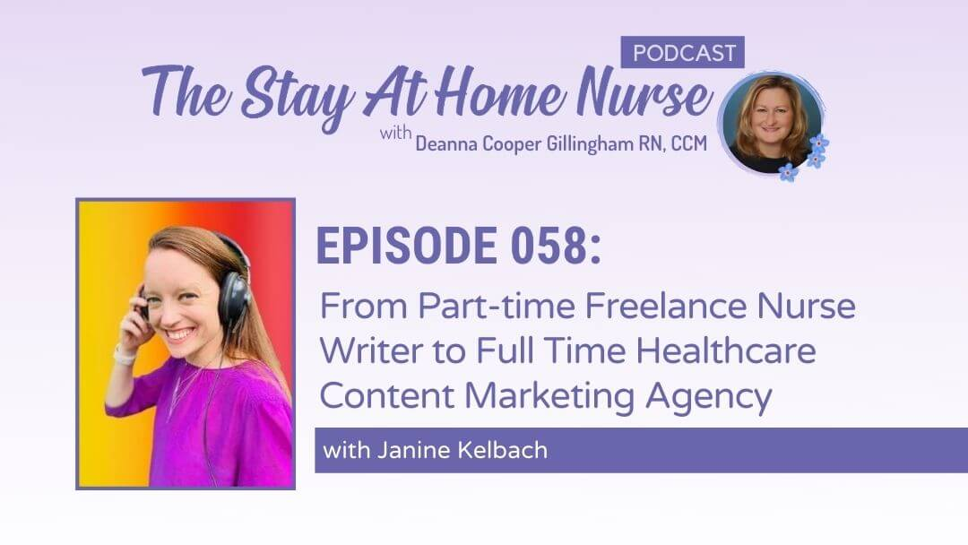 Part-time Freelance Nurse Writer to Full Time Healthcare Content Marketing Agency